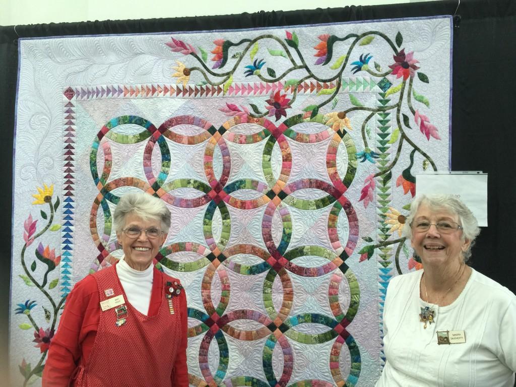 Past Presidents Mary Fidler and Sandra Dougherty
