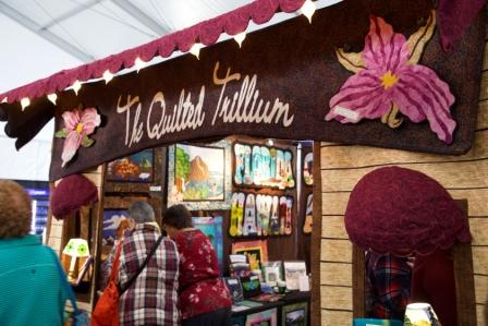 The Quilted Trillium Road to California Quilt Show