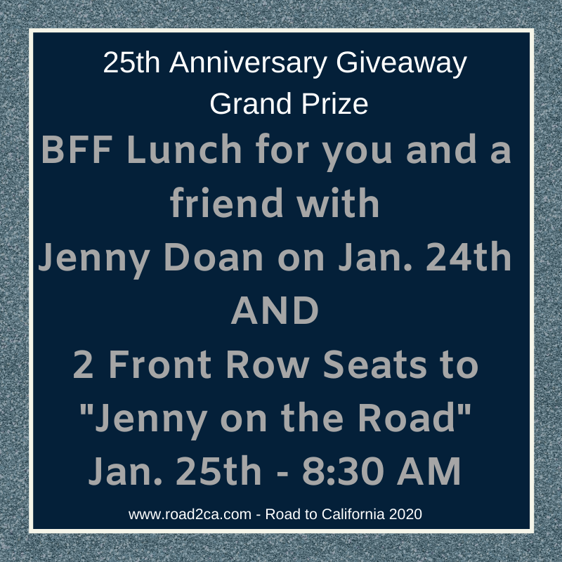 25th Anniversary Giveaway