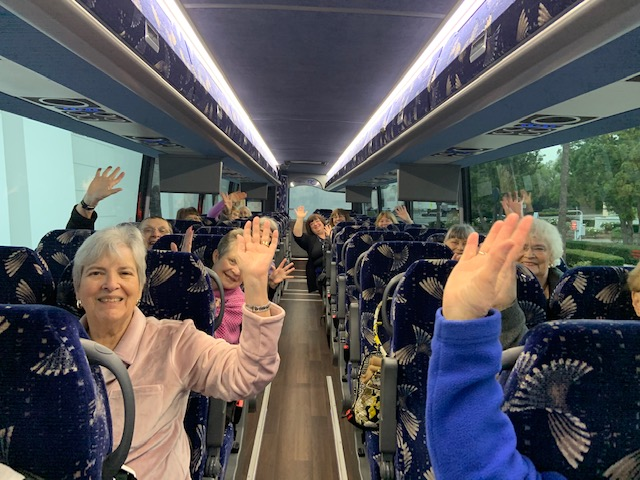 Quilting bus tours