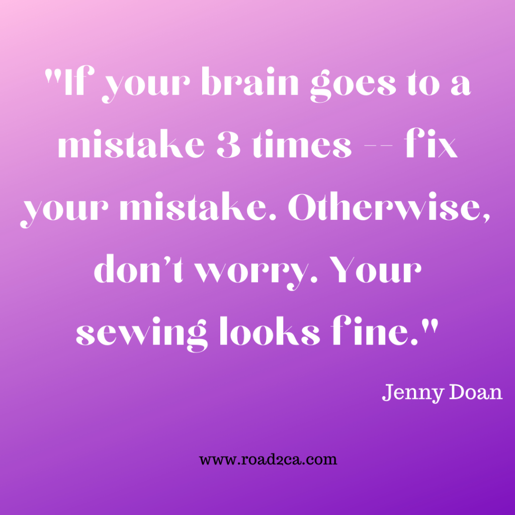 Jenny Doan's Wise Words