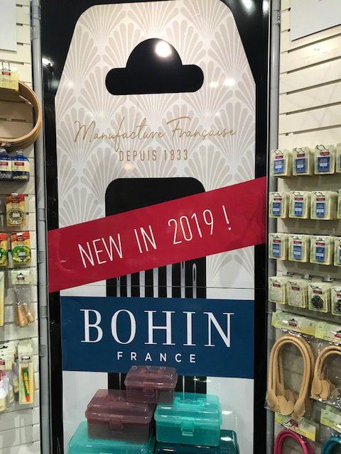 Bohin Brand Road to California Quilt Show