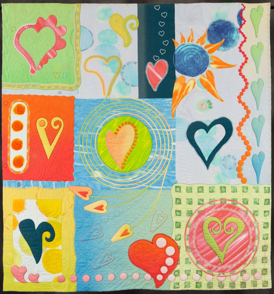 Tatted Hearts Excellence in Hand Quilting Cheryl L. See