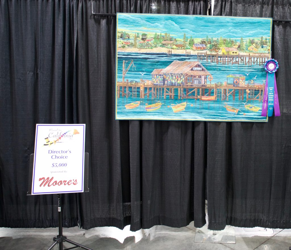 art quilt Road to California Quilt Show