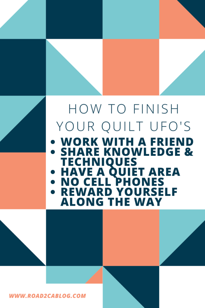 finish your quilt UFO's