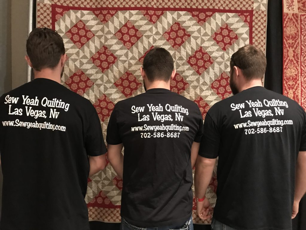 Men Quilters Are On The Rise The Backroads To Road To California