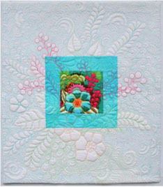 Quilting with a Starter will be taught by Jenny Bowker on Saturday, Class  6001C