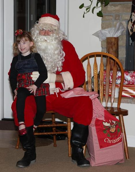 Reese Family Christmas-Santa Suit